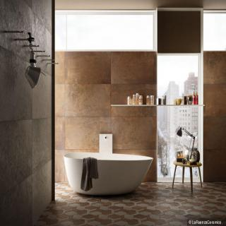 Metallic Porcelain Tiles